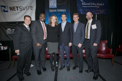 2013 MIT Sloan CFO Summit: The Business of Basketball panel including speakers from NECN, the NBA and the Celtics. Go team!