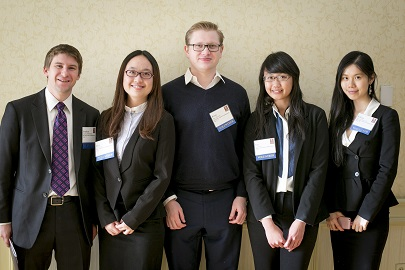 Student volunteers at the 2013 MIT Sloan CFO Summit