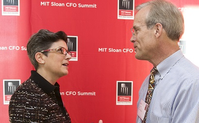 Networking at the 2013 MIT Sloan CFO Summit
